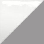 White & Grey - Glossy & Satin